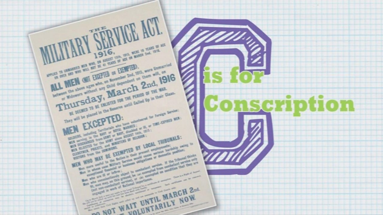 C is for Conscription