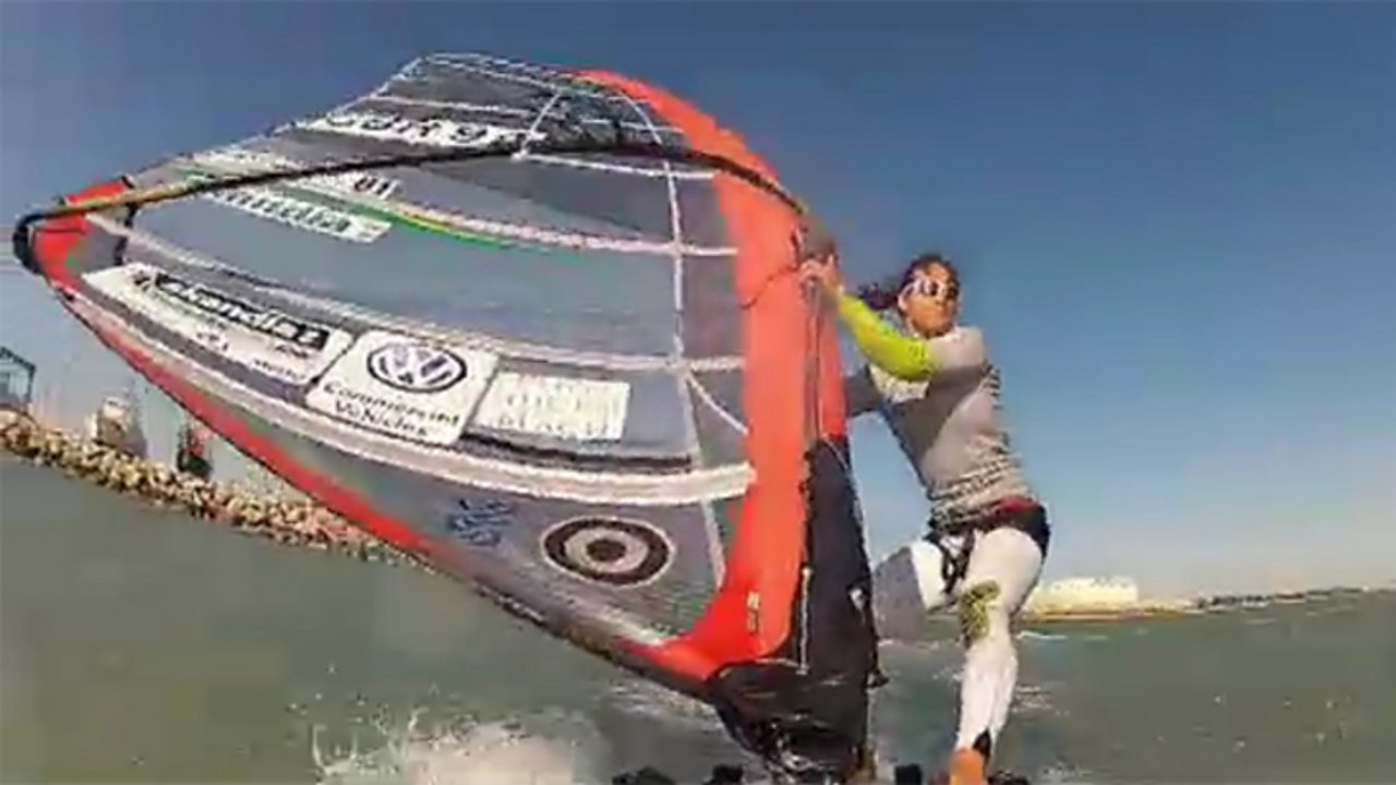 The languages of Olympic windsurfing
