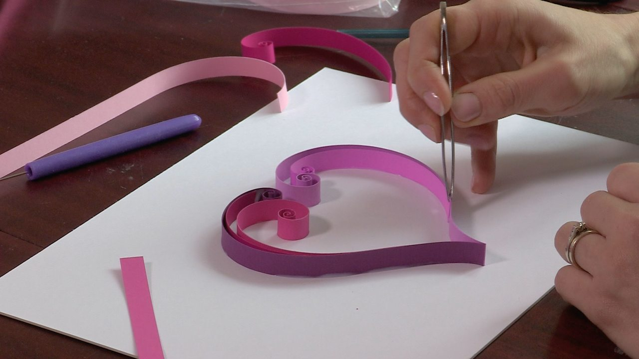 Paper quilling tools and techniques