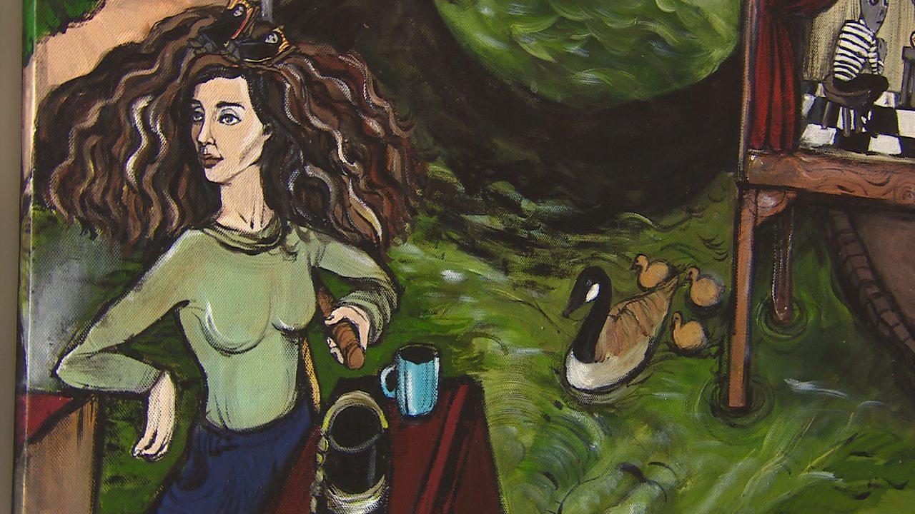 What inspires Iranian artist Maryam Hashemi?