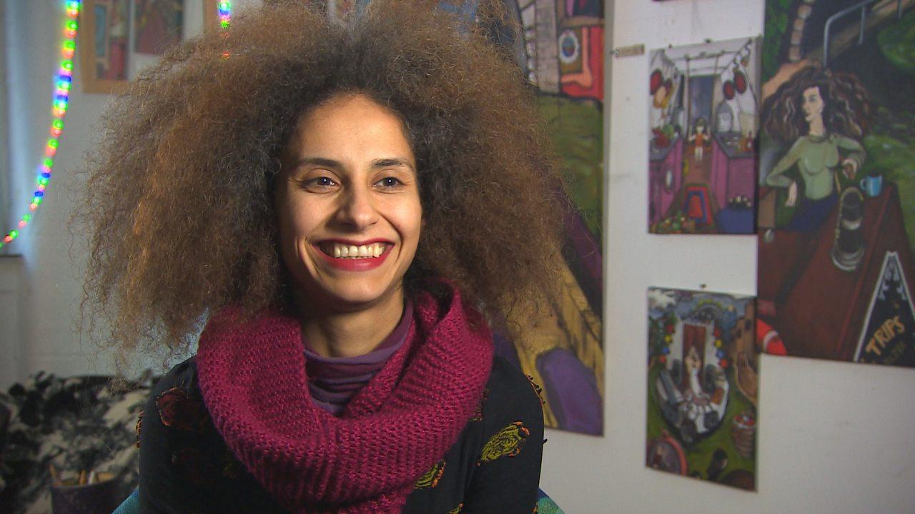 Iranian artist Maryam Hashemi
