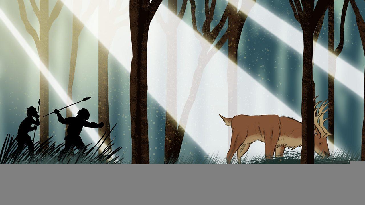History KS2: Middle Stone Age (animation)