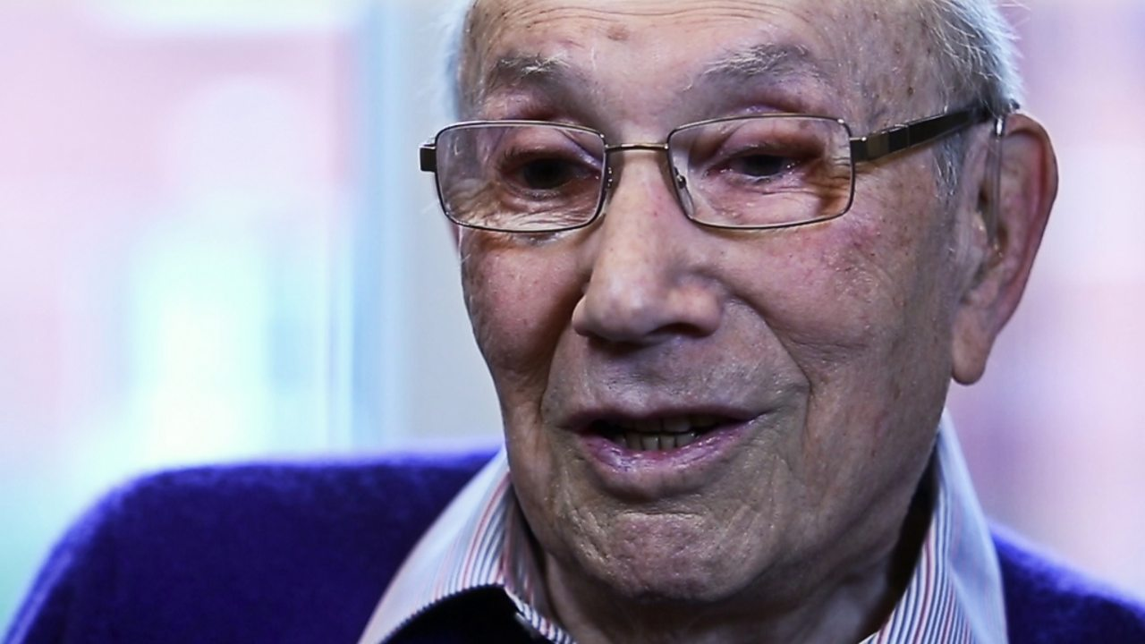 Interview with Holocaust survivor Heinz Skyte