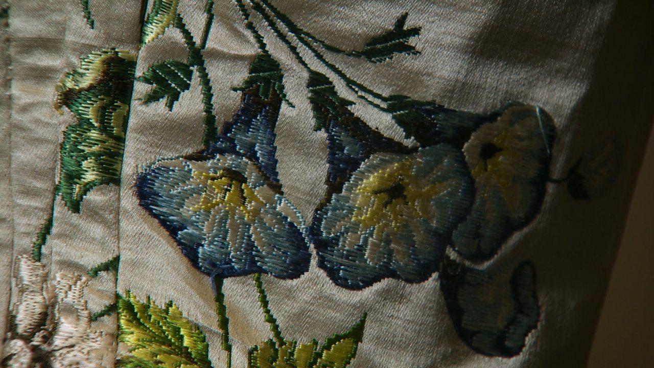 Anna Maria Garthwaite and textile design