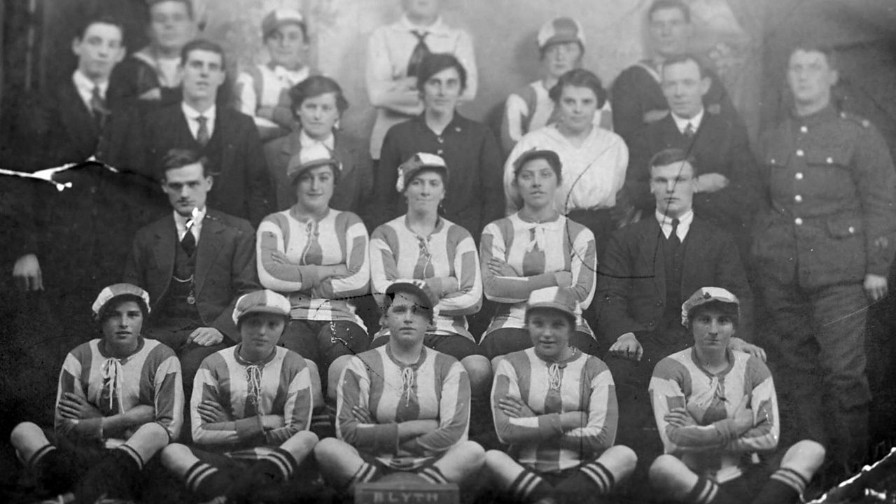 How women's football thrived in World War One
