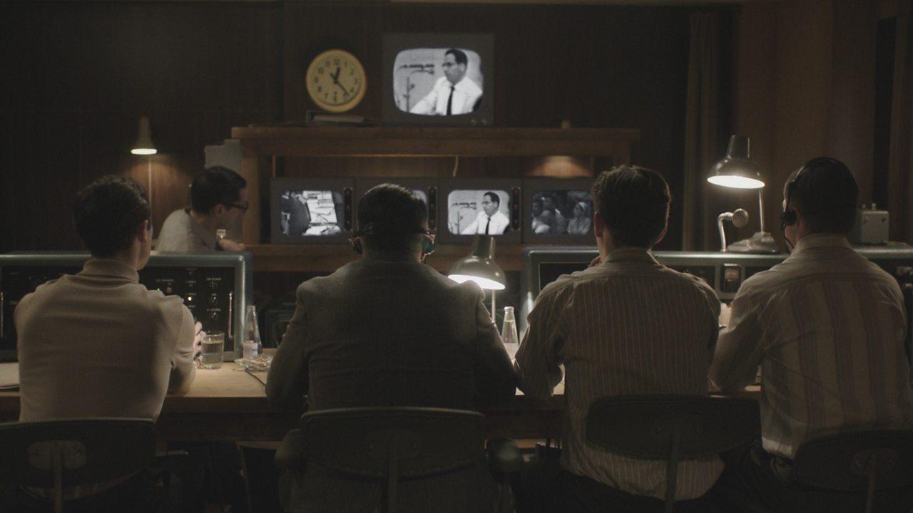 The challenge of filming Adolf Eichmann's trial