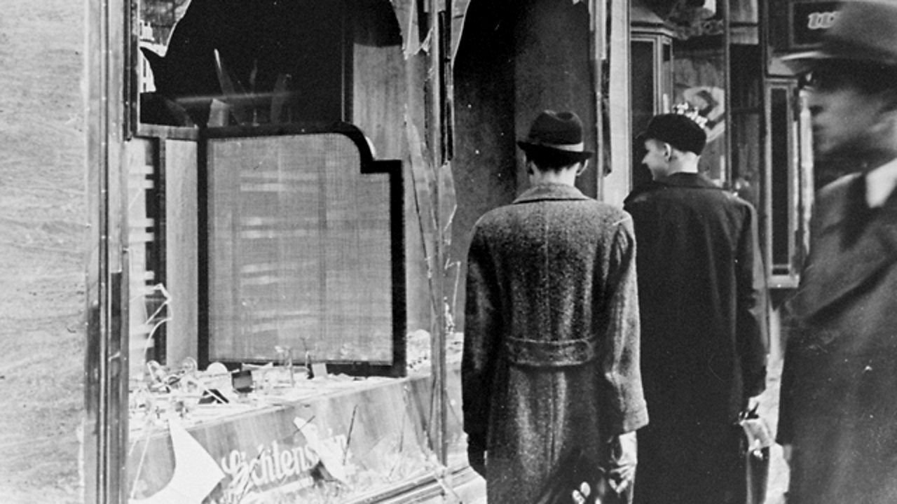Kristallnacht - the 'Night of Broken Glass' - was an escalation in Nazi persecution of the Jews.
