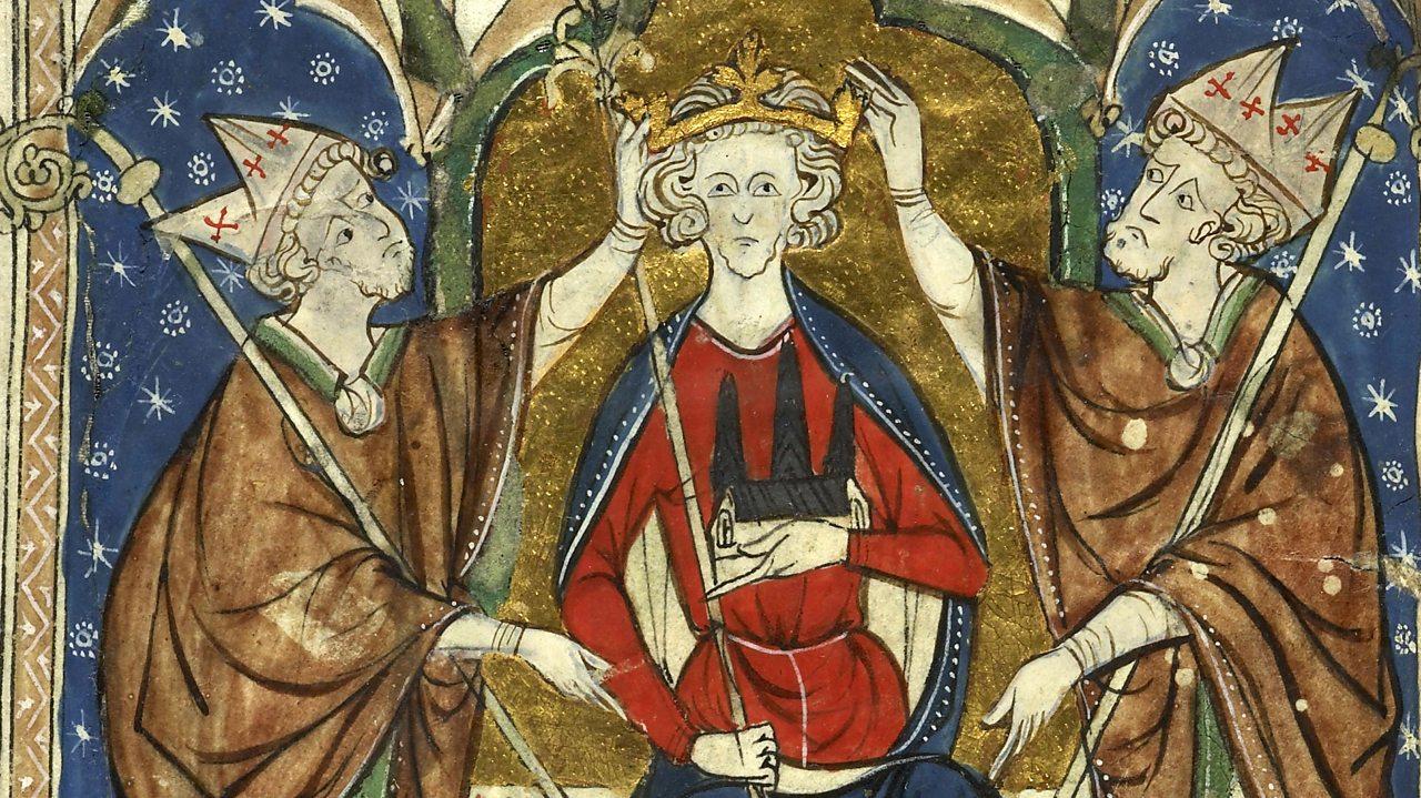 King Henry III is crowned.