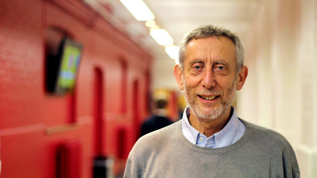 Michael Rosen, poet and former Children's Laureate.