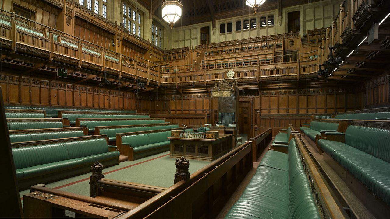 The House of Commons, London.