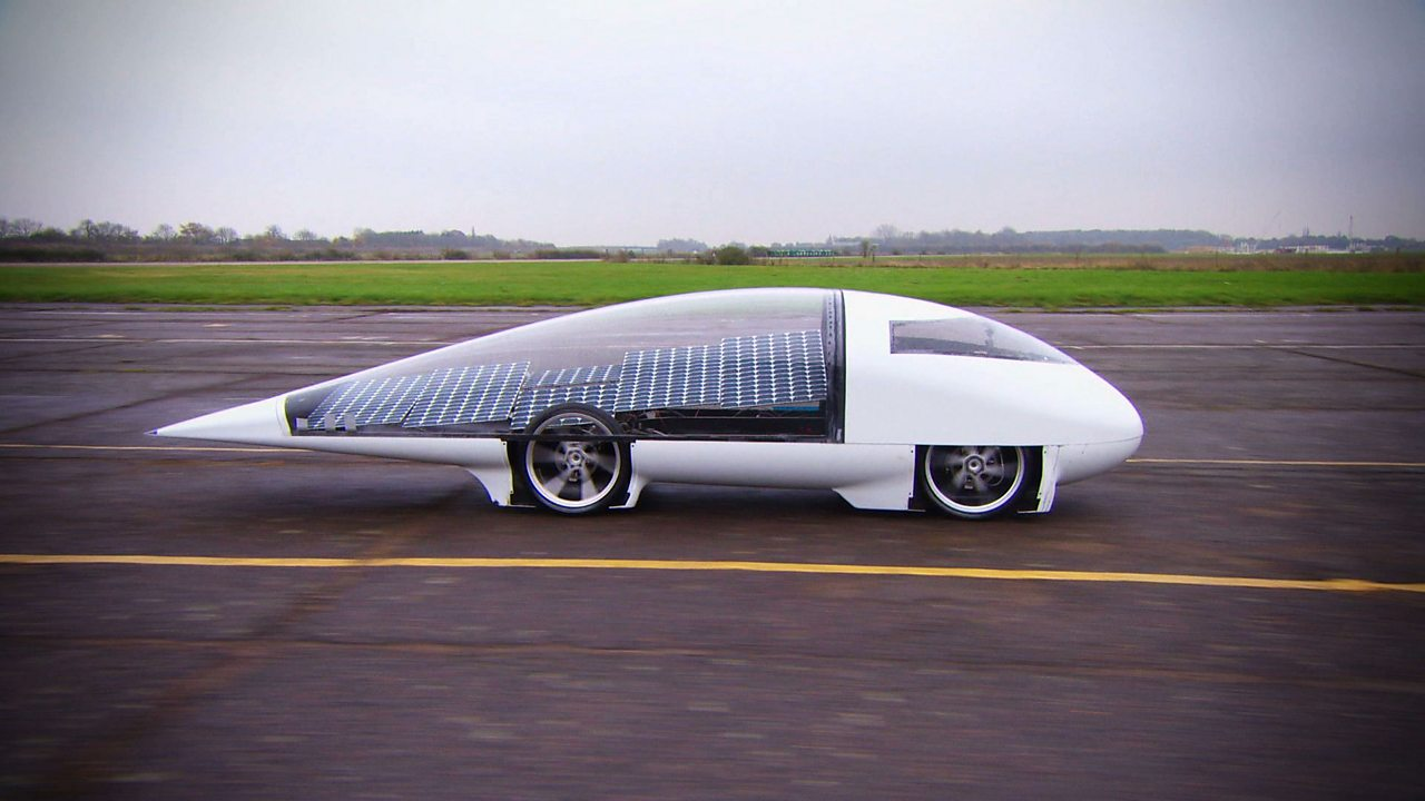 What do a solar-powered car and a green plant have in common?