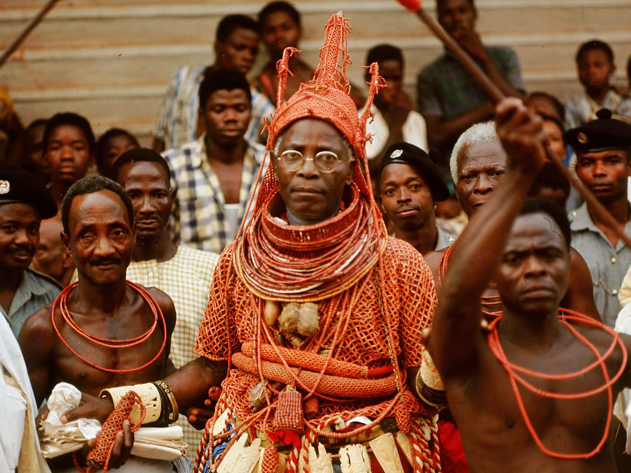 Photograph of Oba Akenzua II