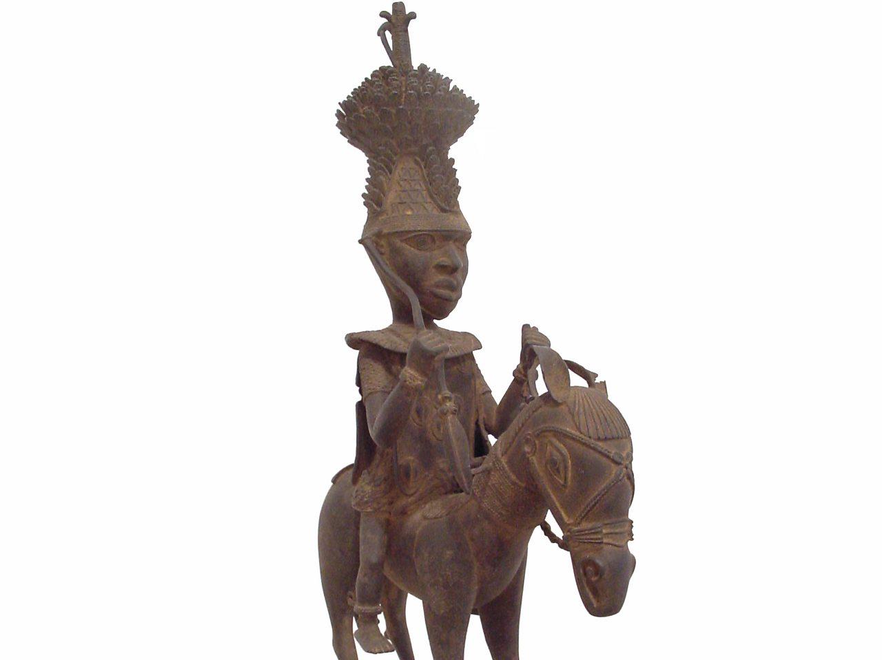 Image result for statue of eweka I Benin kingdom