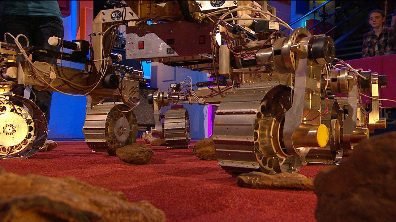 The Mars Rover and autonomous navigation