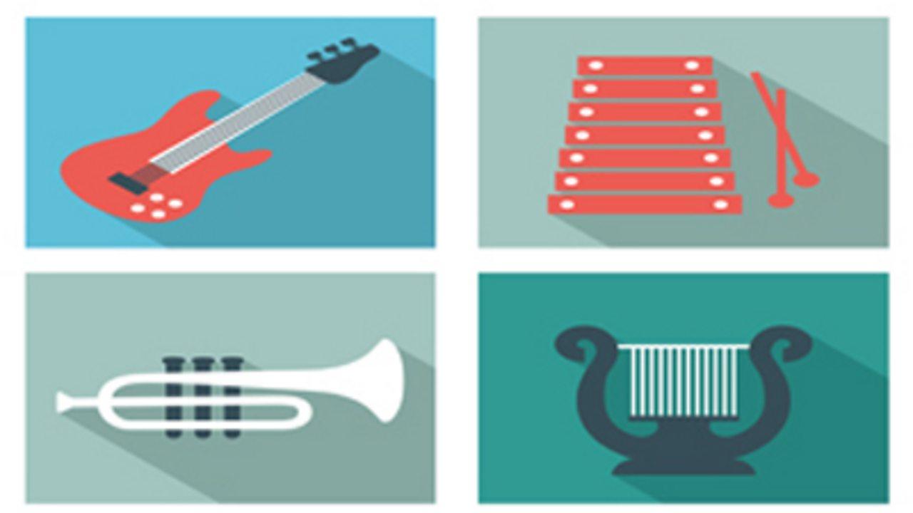 Instruments together - lyrics