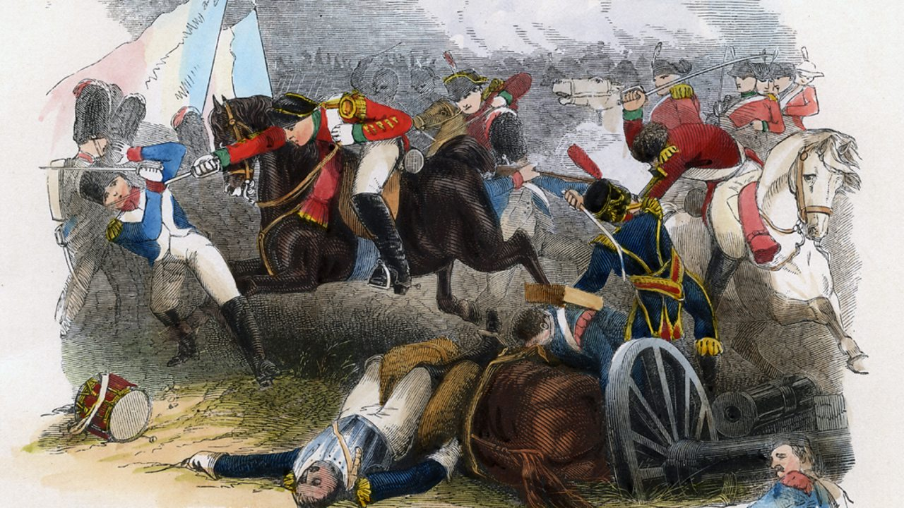 British forces under Wellington's command routed the French at the Battle of Salamanca.