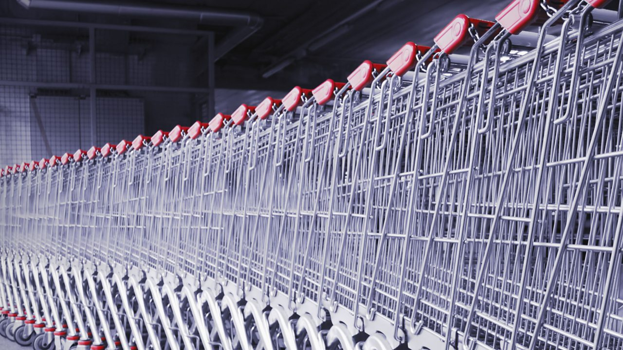 How do supermarkets tempt you to spend more money?