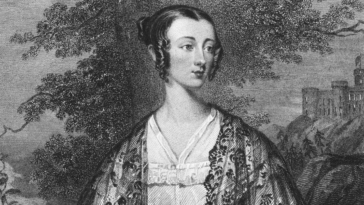Lady Flora Hastings, Queen Victoria's popular lady-in-waiting