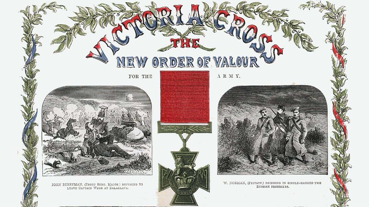 The Illustrated London News revealing the first recipients of the VC.