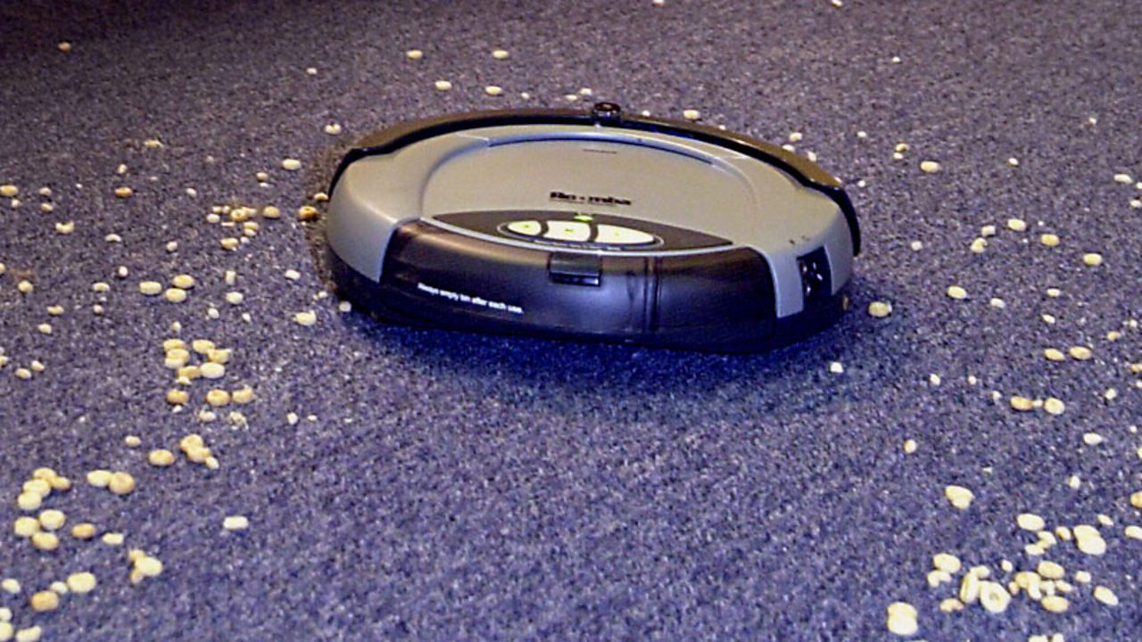 The Roomba vacuum, a robot for the home.