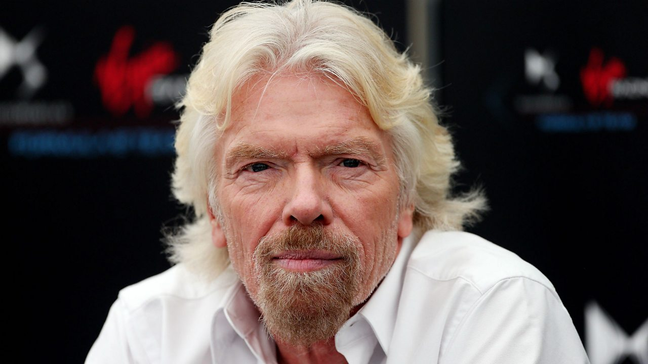 CEO of Virgin, Richard Branson