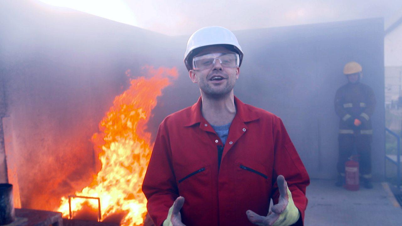 Seeing through smoke - the heat camera