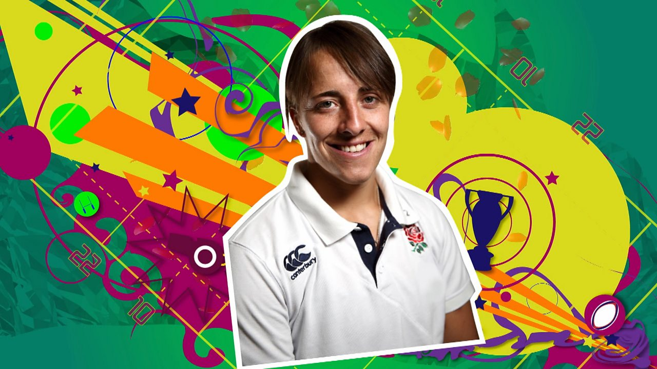 Katy McLean - England Rugby Captain
