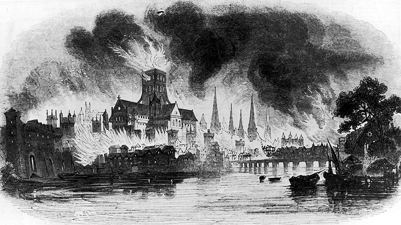 9. The story of The Great Fire of London