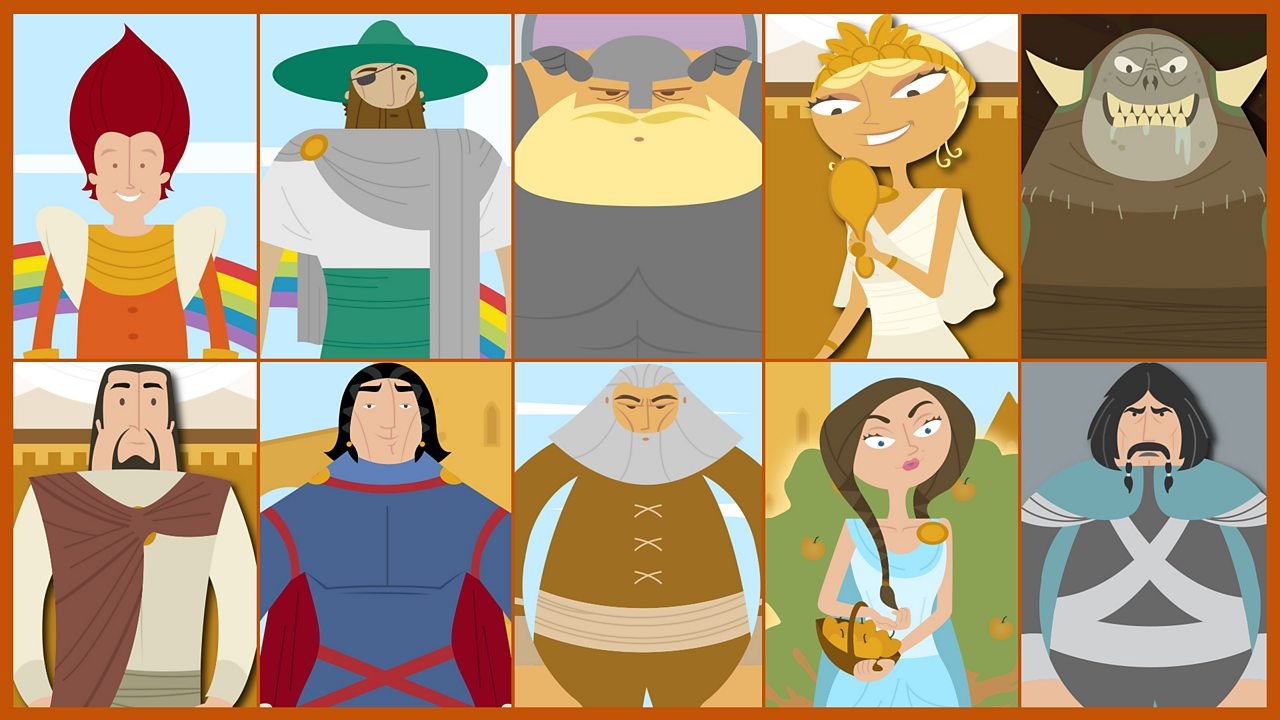 Meet the characters...