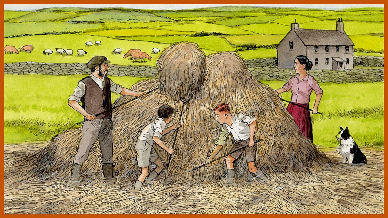 Friend or Foe by Michael Morpurgo. 3: The townies in the countryside