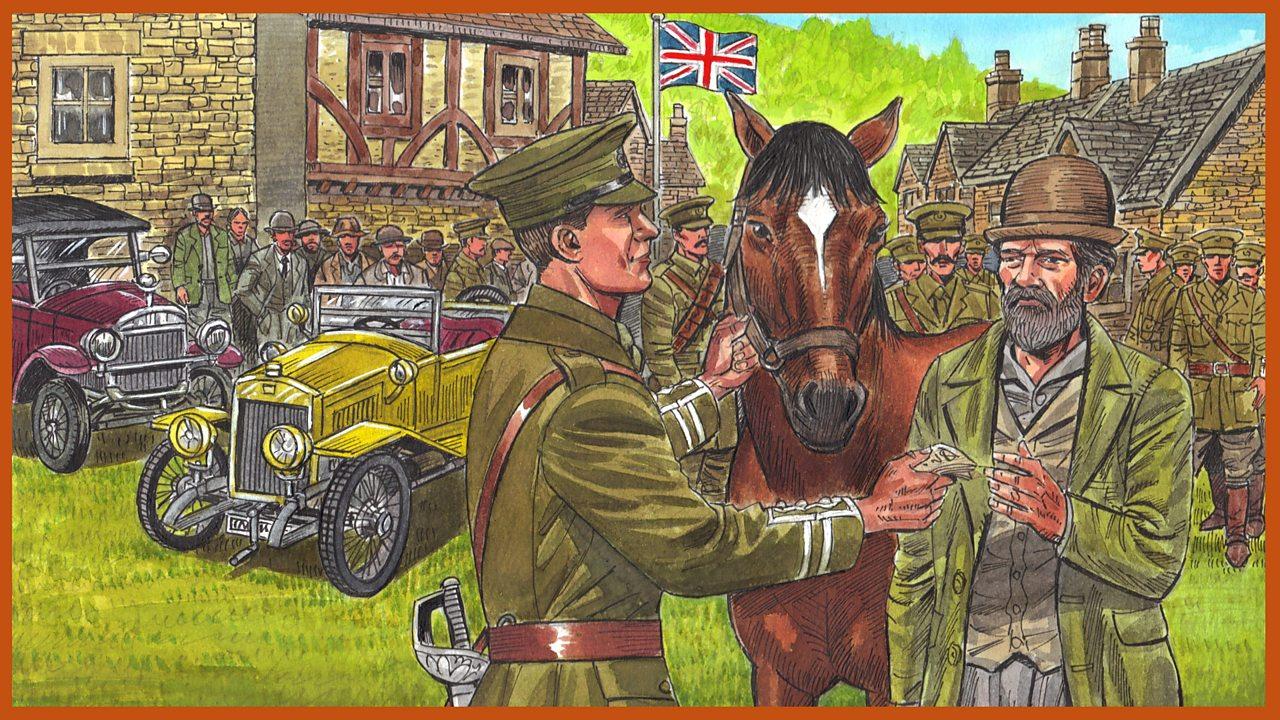 Episode 2: A cavalry horse