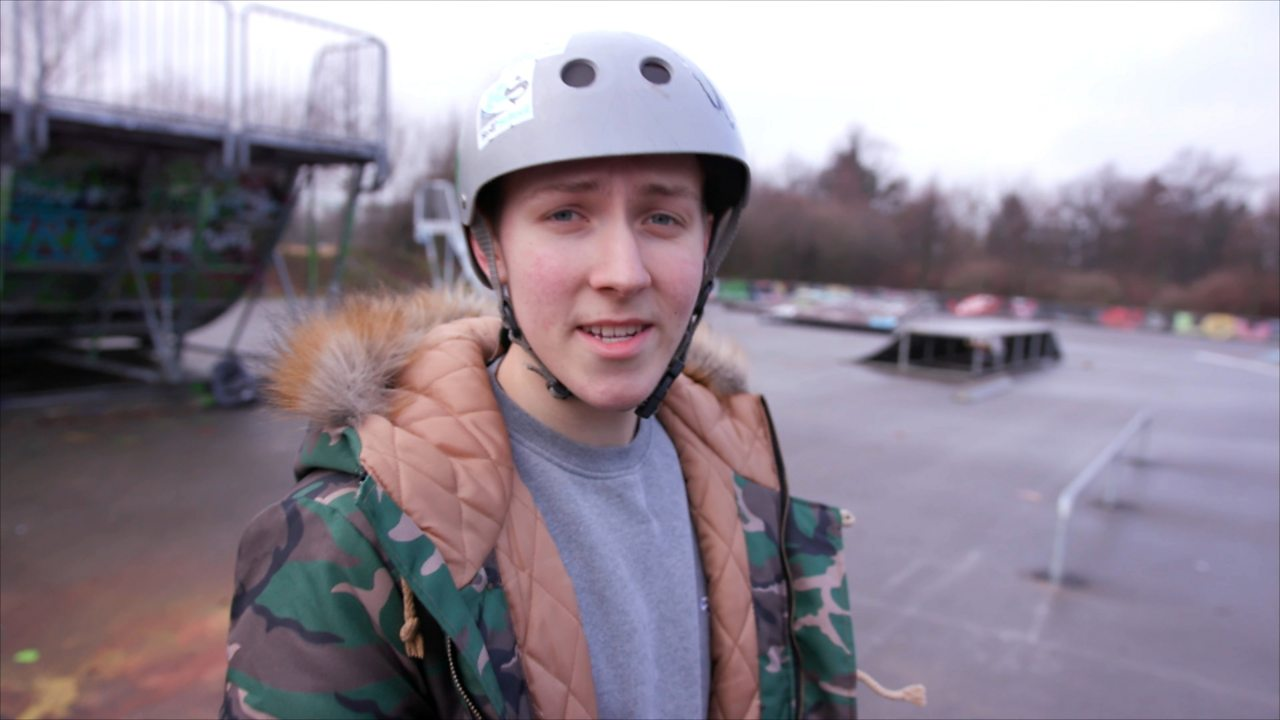Im Skatepark mit Nikita