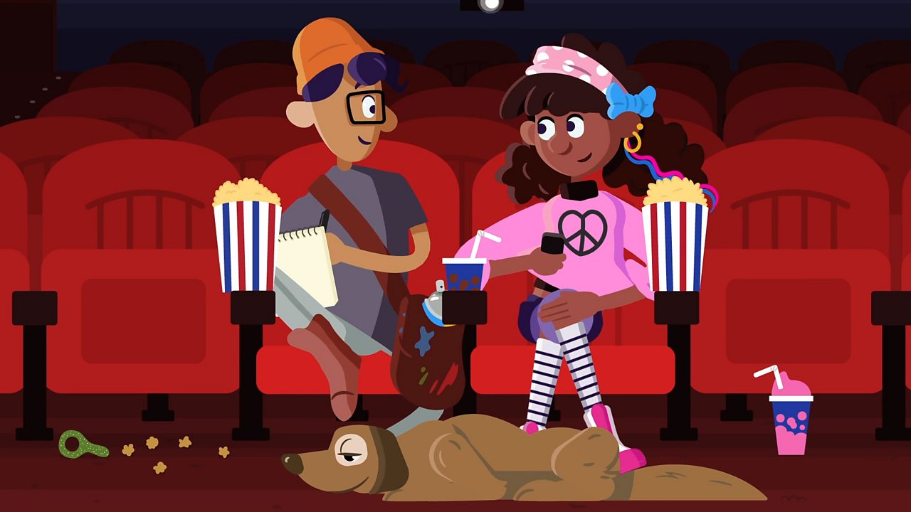 Trafod teimladau yn y sinema