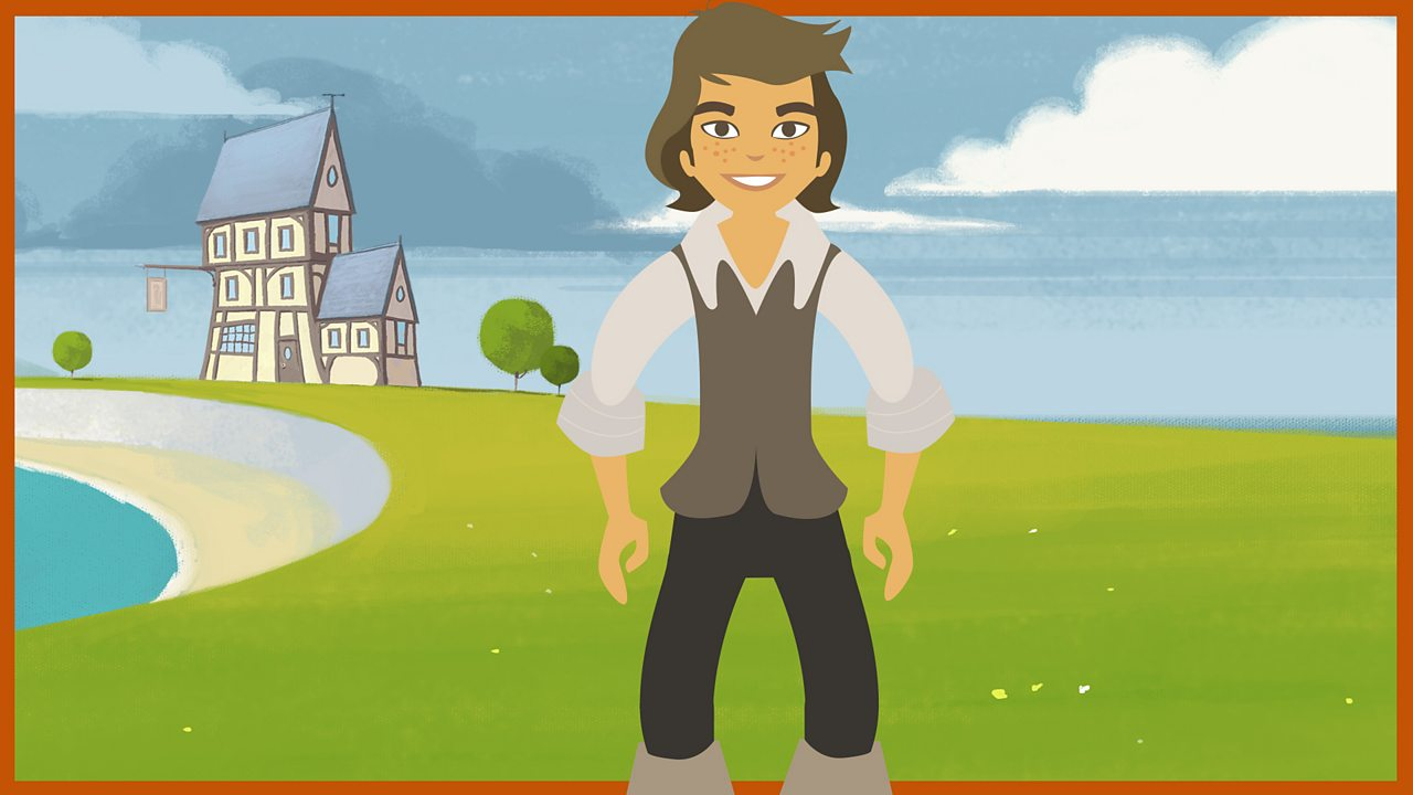 Jim Hawkins - our hero: Jim works in The Admiral Benbow Inn - but he's bored with life and dreams of adventure.