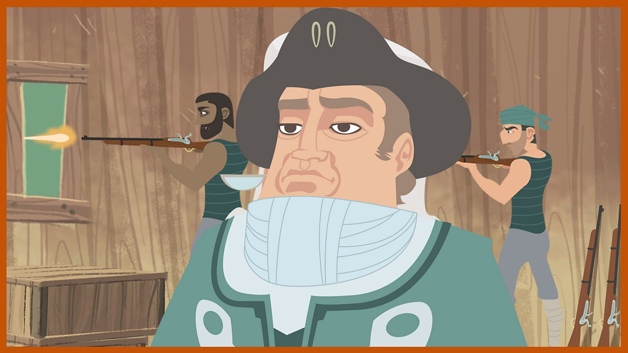 Captain Smollett: The expedition captain... is injured... has contempt for Long John Silver and the pirates.