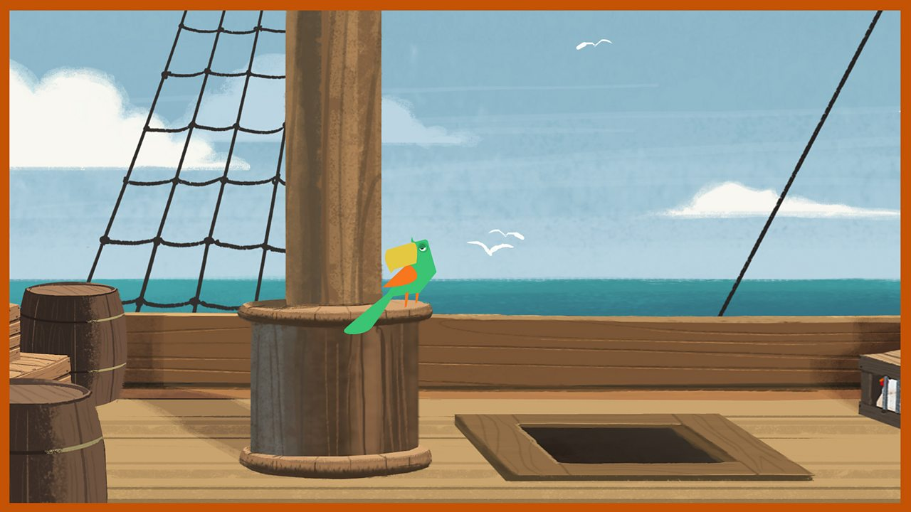 Captain Flint the parrot: Named by Silver after the notorious Captain Flint, who first buried the treasure hoard.