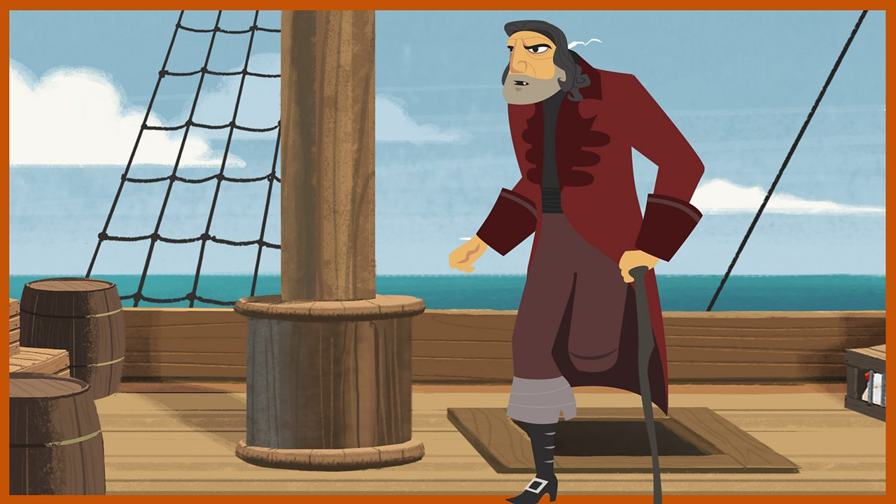 Hands: One of the nastiest of the pirate crew... but meets his match in young Jim Hawkins.