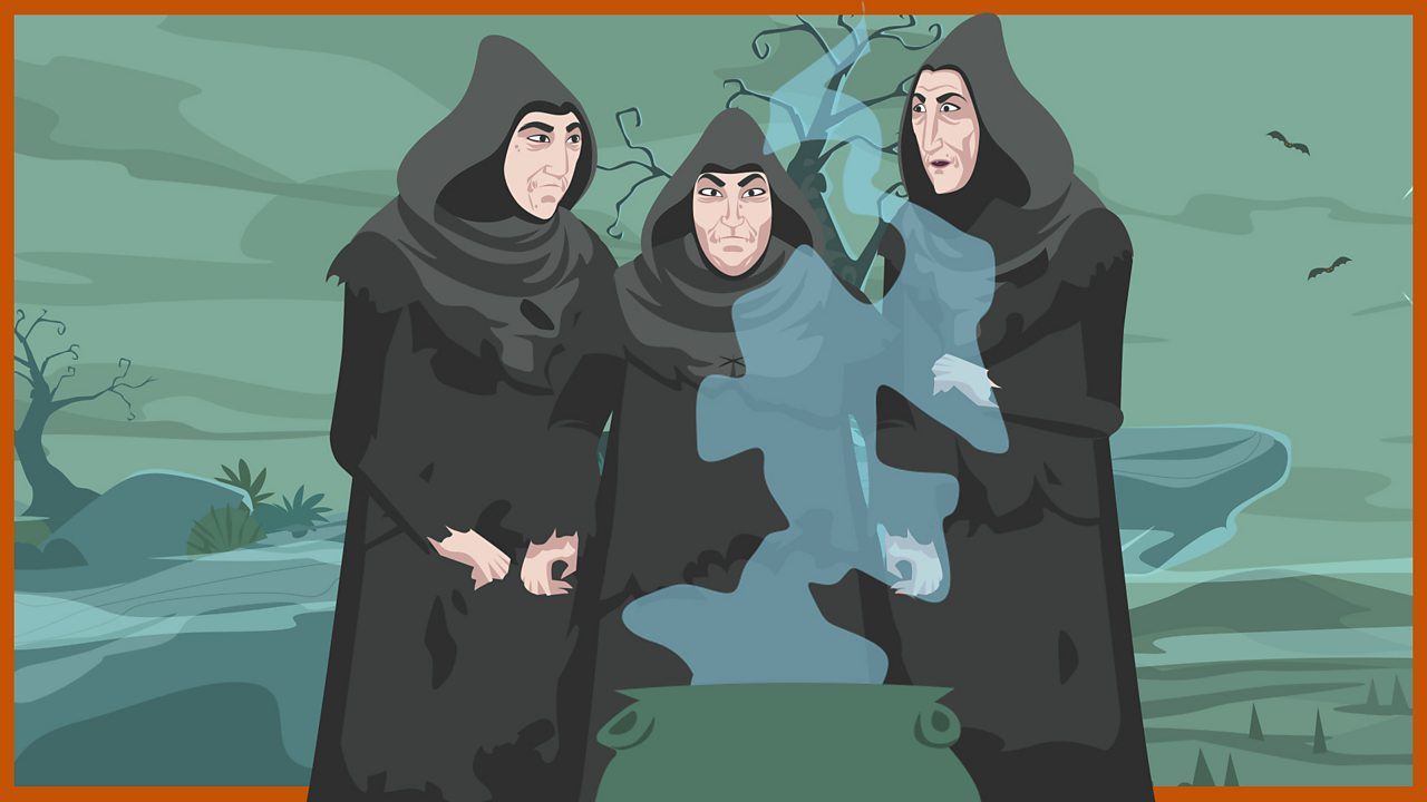 The Three Witches - or 'Weird Sisters'