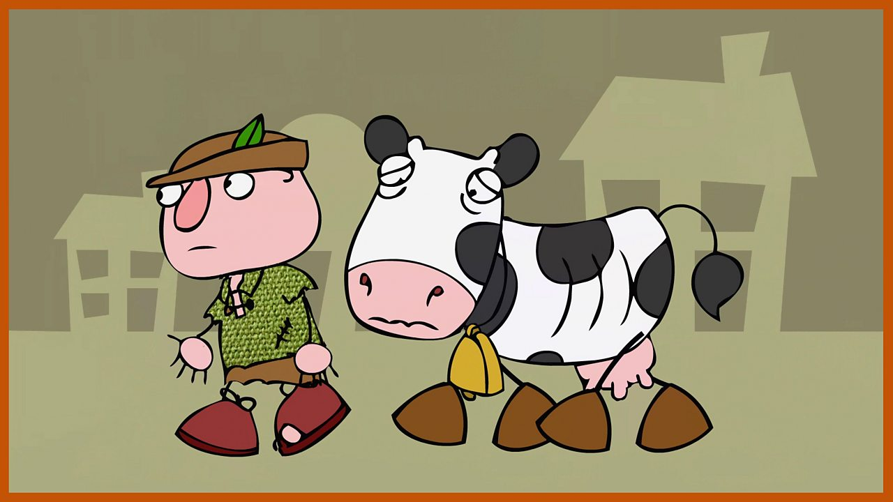 Daisy the cow: Jack sells Daisy to the man with the magic beans. Will Jack ever see his Daisy again?