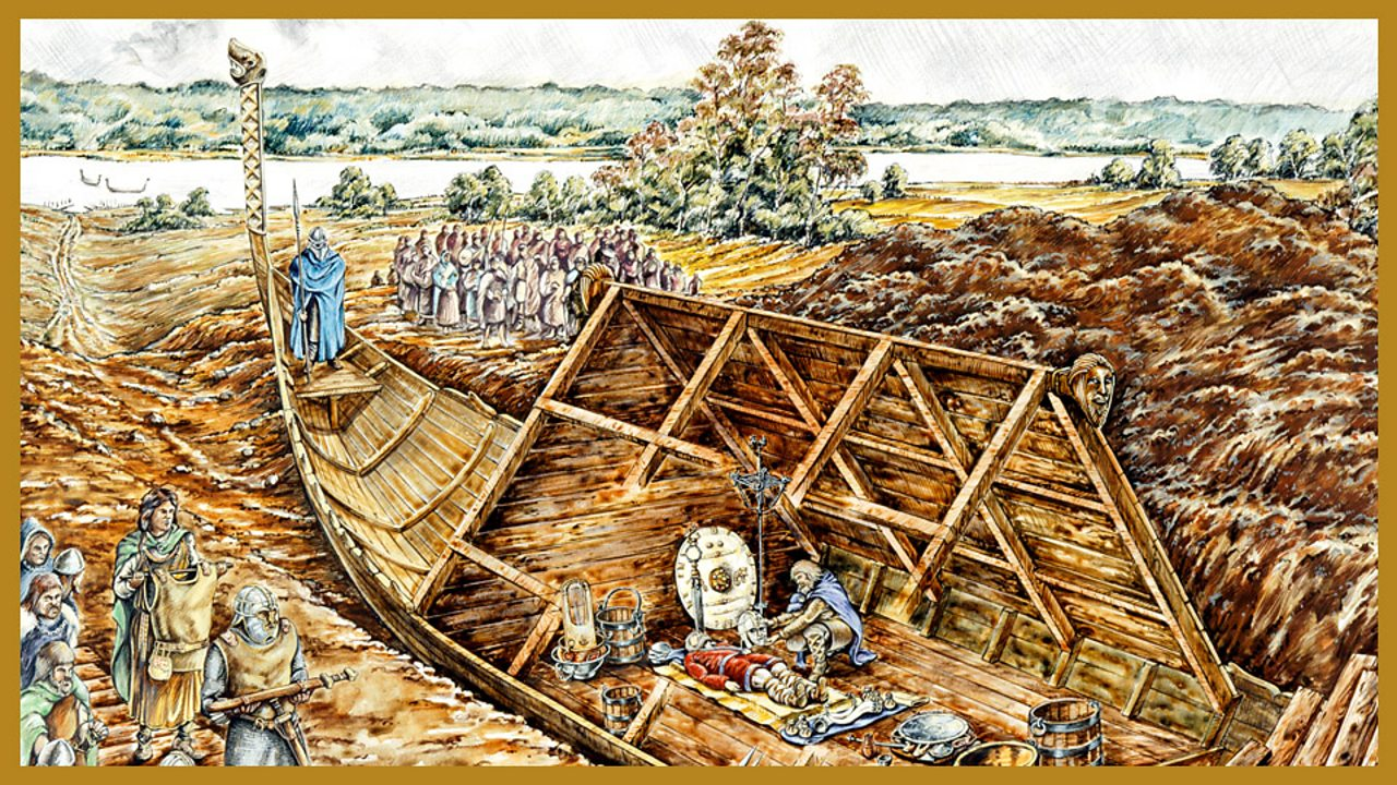The Sutton Hoo Treasure Ship