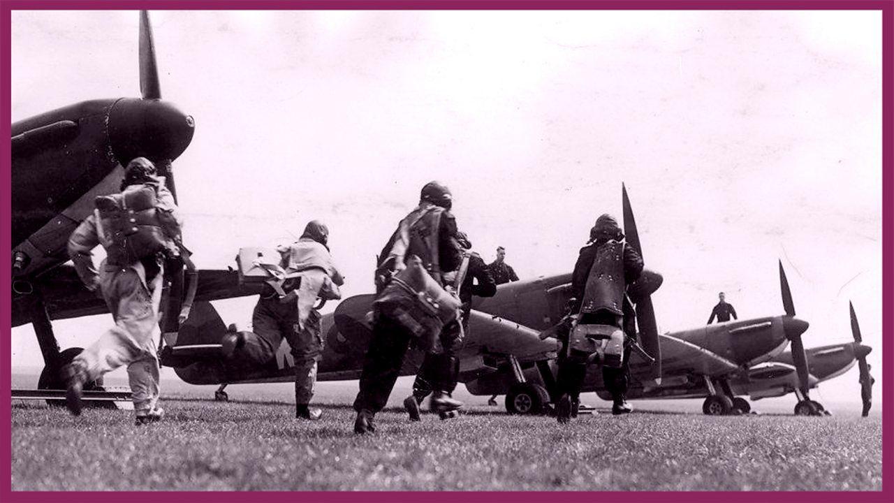 Spitfires 'scramble'