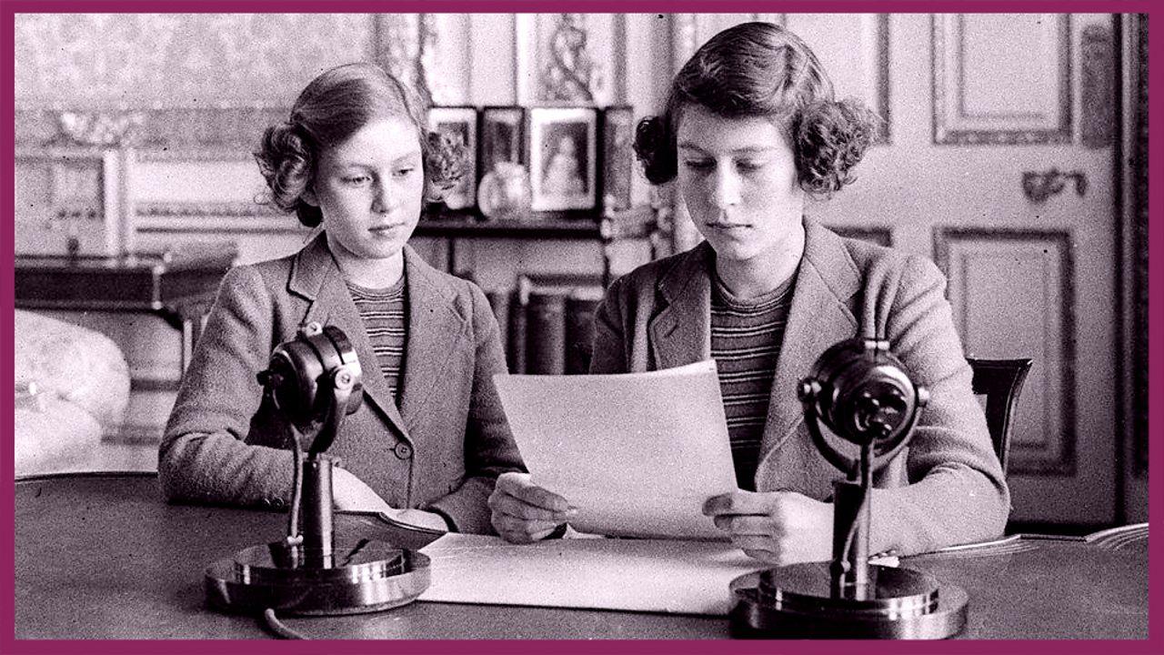 HRH Princess Elizabeth broadcast