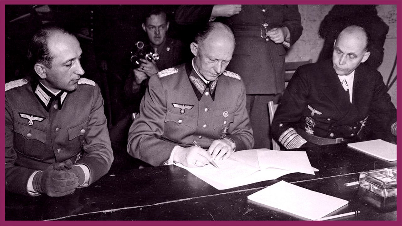 Nazi Germany surrenders