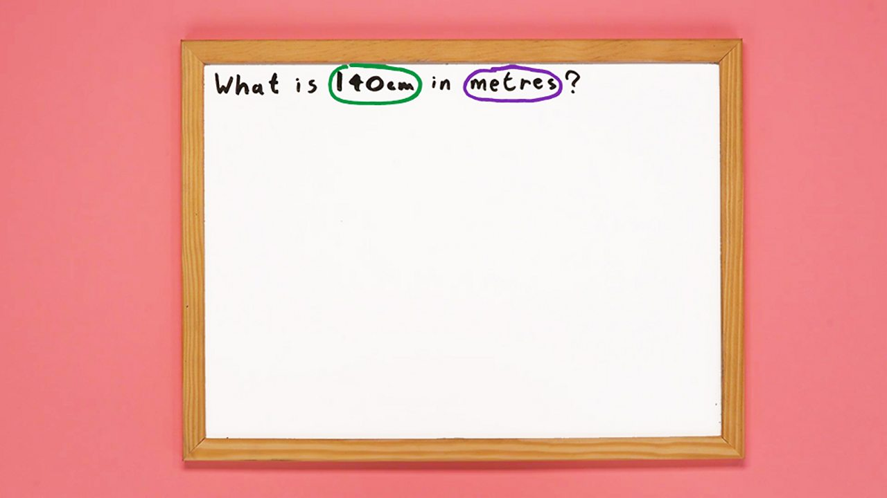 An image of a whiteboard outlining the maths problem