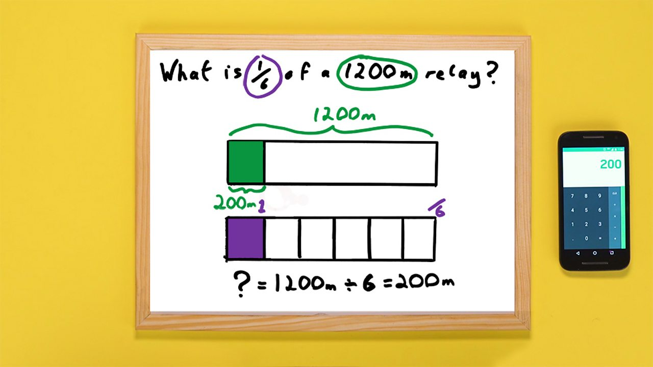 Whiteboard with final calculation