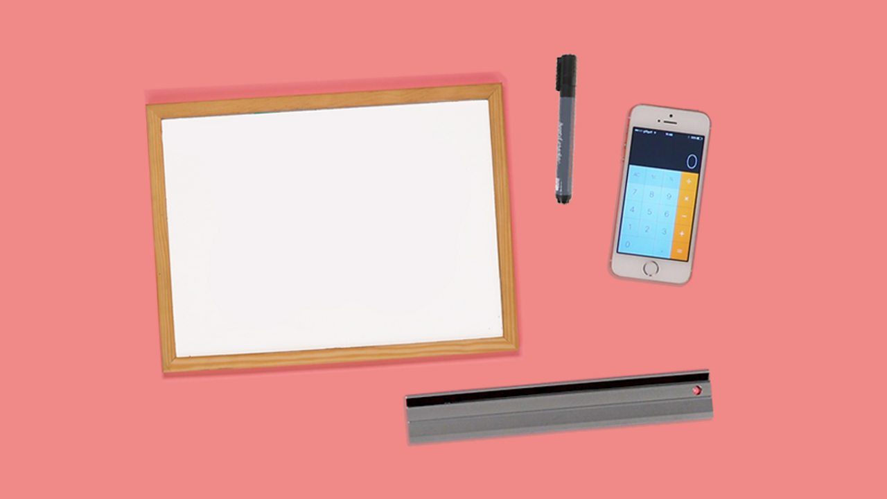 An image of a phone as a calculator, a whiteboard, a ruler and a pen