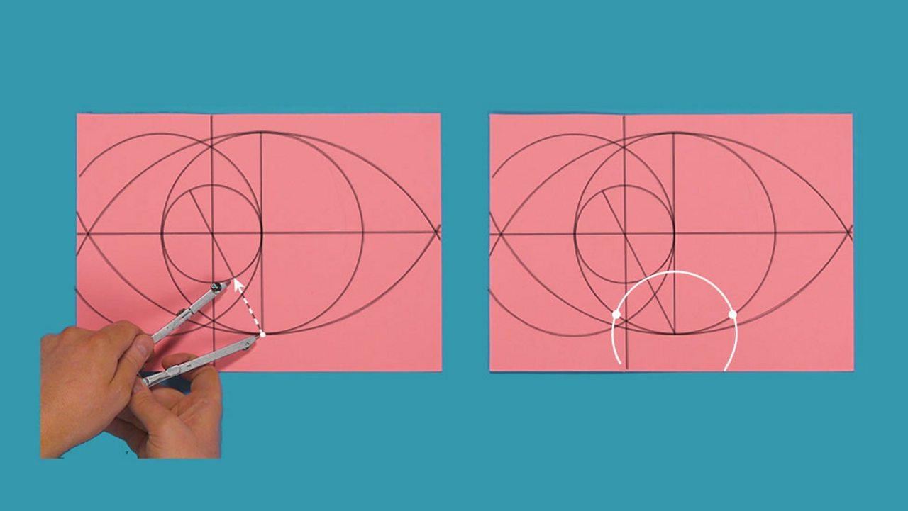 Draw bottom circle