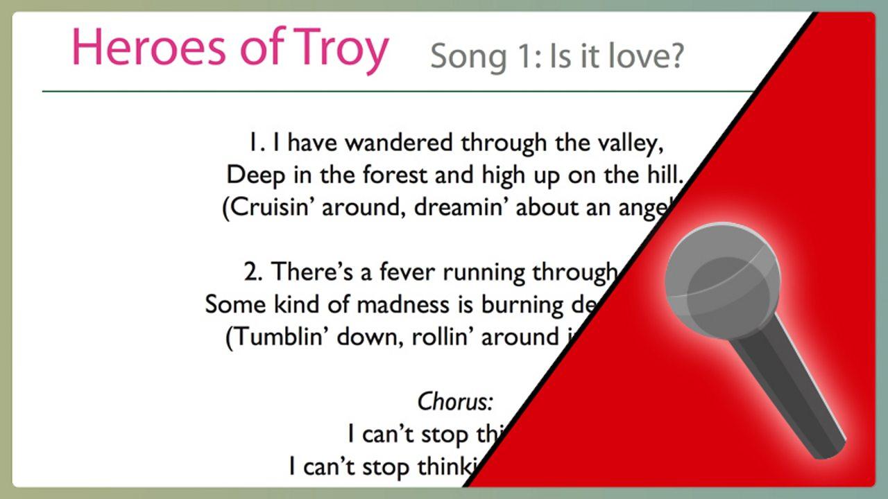 Song 1 - lyrics