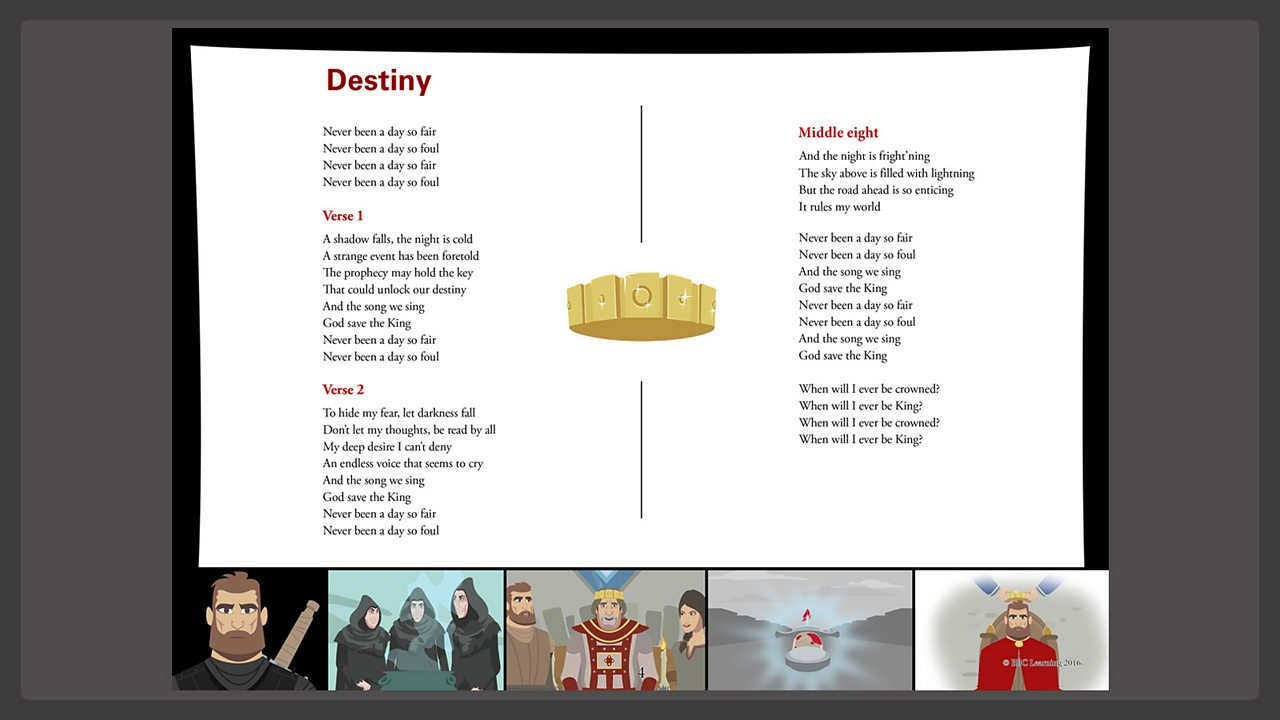 Lyrics - Destiny