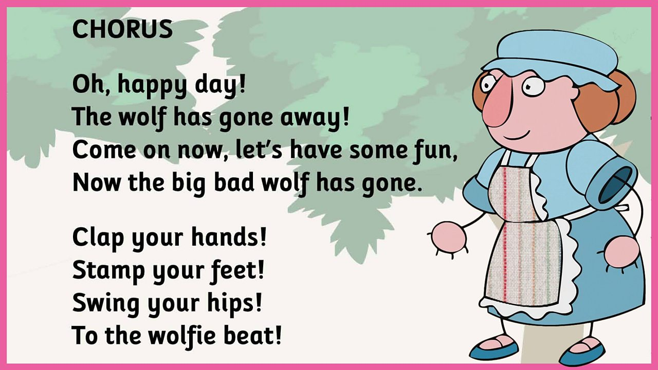 Lyrics - Wolfie went a-walking